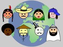 People worldwide Stock Photo
