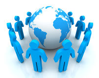 People worldwide connections Royalty Free Stock Image