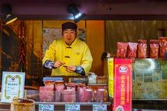 People at Yokohama Chinatown in japan Stock Images