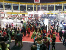 Peoples at Book Fair 2014, Bucharest Stock Image