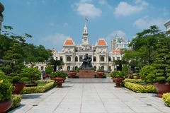 The Peoples Committee Building in Ho Chi Minh City, Vietnam Stock Photo