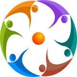 Peoples logo Royalty Free Stock Image