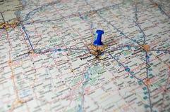 Peoria, l'Illinois photo libre de droits