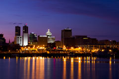 Peoria riverfront Royalty Free Stock Photos