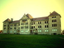 Peoria State Hospital. A.k.a Bartonville State Hospital, located in Bartonville, Illinois. When it was running, it was a home for the insane. It has been Stock Images