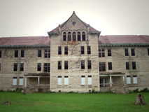 Peoria State Hospital. Located in Bartonville Illinois. When it was running, it was a home for the insane Royalty Free Stock Images