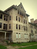 Peoria State Hospital. Located in Bartonville, Illinois. When it was running, it was a home for the insane Stock Photo