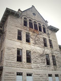 Peoria State Hospital. Located in Bartonville Illinois. When it was running, it was a home for the insane Royalty Free Stock Photo