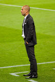 Pep Guardiola de FC Barcelona imagen de archivo
