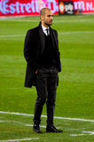 Pep Guardiola (FC Barcelona) Imagen de archivo