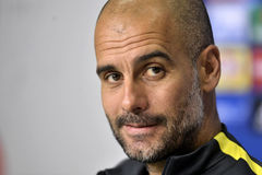 Pep Guardiola Stock Image