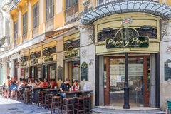 Pepa y Pepe restaurant Stock Photo