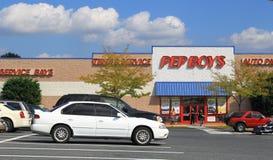 Pepboys汽车零件存储 库存照片
