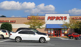 Pepboys Auto Parts Store Stock Photos
