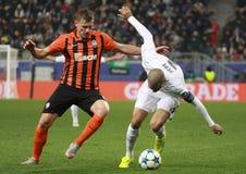 Pepe in actie tegen Gladkiy Stock Afbeelding