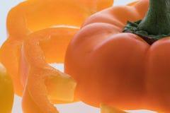 Pepe arancione Immagine Stock Libera da Diritti