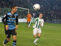 Pepe Díaz and Raúl R.  match king's Cup Stock Photos