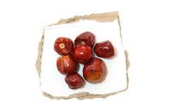Pepe di peperoncini rossi rotondo rovente Fotografia Stock