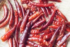 Pepe di peperoncini rossi rovente Fotografia Stock Libera da Diritti
