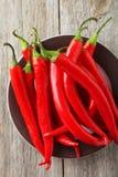 Pepe di peperoncino rosso Immagini Stock