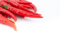 Pepe di peperoncino rosso rovente Immagine Stock