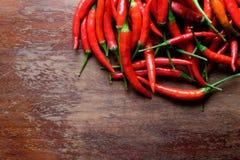 Pepe di peperoncino rosso rovente Fotografia Stock