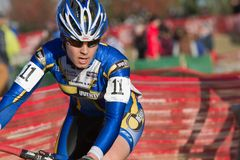 Pepe Hartlon - pro corridori di Cyclocross delle donne Fotografie Stock