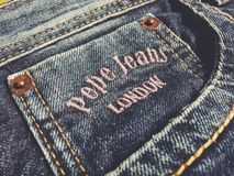 Pepe Jeans London Royaltyfri Bild
