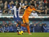 Pepe Lima av Real Madrid Arkivfoton