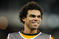 Pepe Lima of Real Madrid Royalty Free Stock Photo