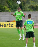 Pepe, portuguese player in practice to Euro 2012 Stock Photo