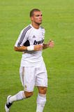 Pepe of Real Madrid Royalty Free Stock Photography