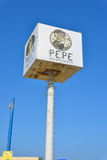 Pepe Resturant Sign Royalty Free Stock Images