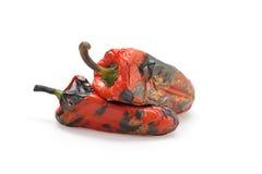 Pepe rosso arrostito fotografie stock
