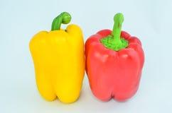 Pepe rosso e giallo Immagini Stock