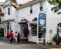 Pepe's Seafood, Provincetown, MA. Stock Image