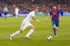 Pepe van Real Madrid Stock Afbeelding