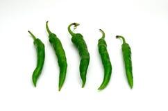 Pepe verde Fotografie Stock