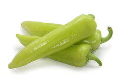Pepe verde Immagini Stock