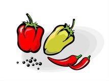 Peper vector illustratie