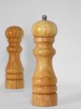 Peper en zout Royalty-vrije Stock Afbeeldingen