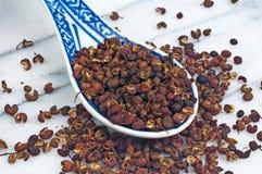 Peper van Szechuan Stock Afbeeldingen