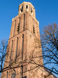 Peperbus tower in Zwolle Stock Photography