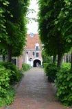 Pepergasthuis Groningen Nederländerna Arkivbild