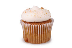 Peperkoek cupcake Stock Foto's