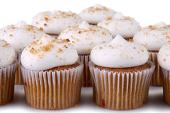 Peperkoek Cupcakes Royalty-vrije Stock Foto's