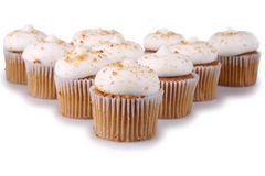 Peperkoek Cupcakes Royalty-vrije Stock Foto