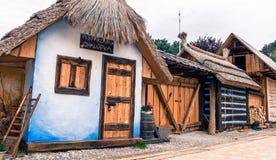 Peperkoekhuis - Bojnice, Slowakije royalty-vrije stock foto's