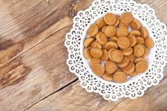 Pepernoot holandés tradicional del caramelo Foto de archivo