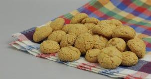 Pepernoten, μια παραδοσιακή απόλαυση με τις ολλανδικές διακοπές Sinterklaas Μπισκότο στοκ εικόνες με δικαίωμα ελεύθερης χρήσης